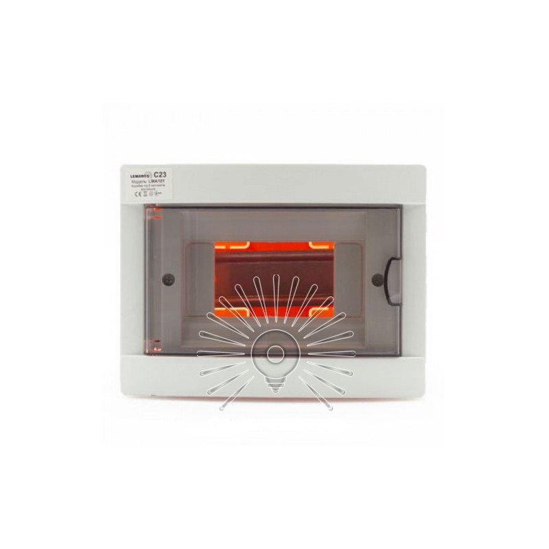 Коробка під 6 автоматів LEMANSO внутрішня, ABS / LMA101 Lemanso - 1