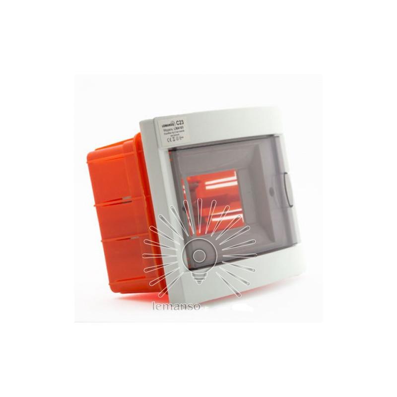Коробка під 6 автоматів LEMANSO внутрішня, ABS / LMA101 Lemanso - 2