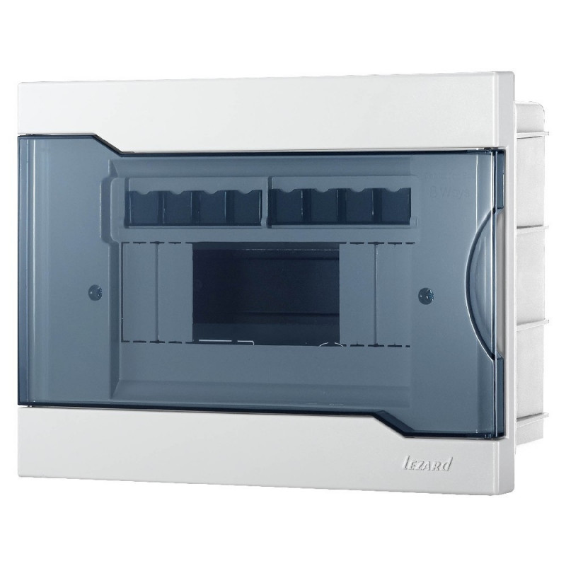 Бокс під автомати Lezard внутрішньої установки - 8 Модульний. 730-1000-008 NEW Lezard - 1