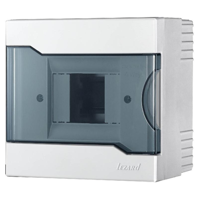 Бокс під автомати LEZARD зовнішньої установки - 4 Модульний. 730-2000-004 NEW Lezard - 1