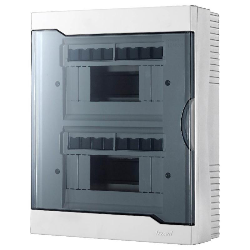 Бокс під автомати LEZARD зовнішньої установки - 16 Модульний. 730-2000-016 NEW Lezard - 1