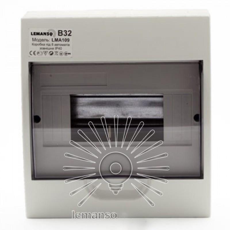 Коробка під 8 автоматів LEMANSO накладна, ABS / LMA109 Lemanso - 2