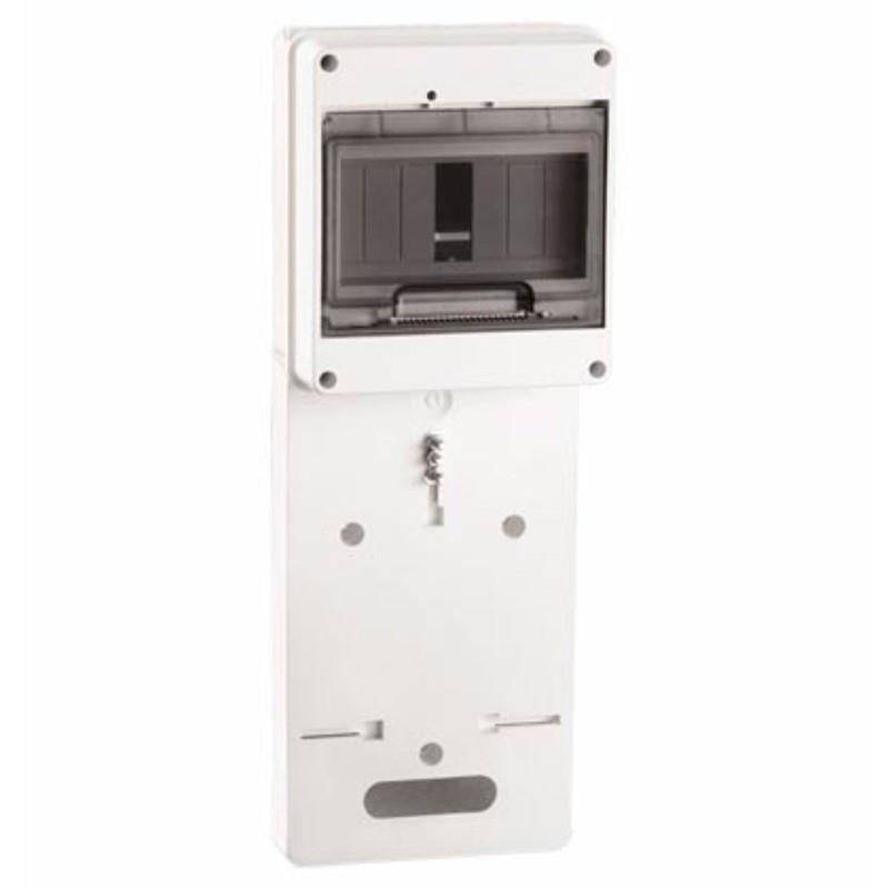 Панель для установки счетчика ПУ1/2-7 1-фазн. с боксом для автоматов модульных серий (7 мод.) с прозрачной крышкой IEK IEK - 1