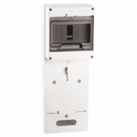 Панель для установки лічильника ПУ1 / 2-7 1-фазний. з боксом для автоматів модульних серій (7 мод.) з прозорою кришкою IEK IEK -