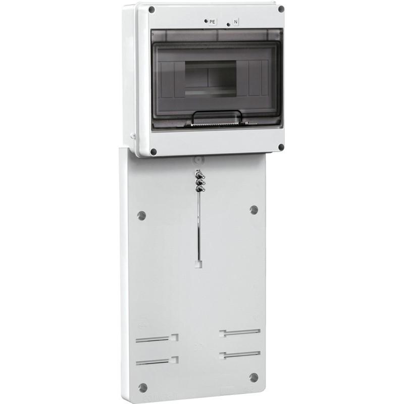 Панель для установки лічильника ПУ3 / 2-8 3-фазний. з боксом для автоматів модульних серій (8 мод.) IEK IEK - 1