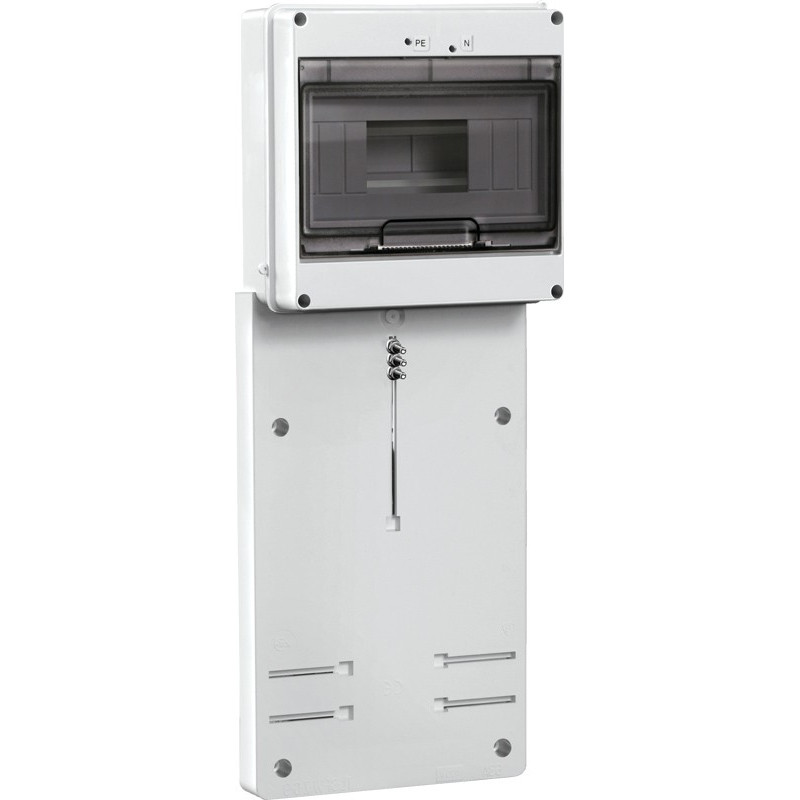Панель для установки счетчика ПУ3/2-8 3-фазн. с боксом для автоматов модульных серий (8 мод.) IEK IEK - 1