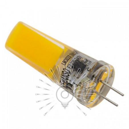 Лампа Lemanso G4 COB 300LM 3W 220V силікон / LM3033 Lemanso - 1