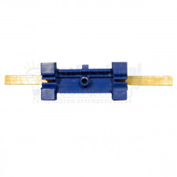 Нульова шина на DIN рейку №15 LMA019. 15 отворів Lemanso - 2