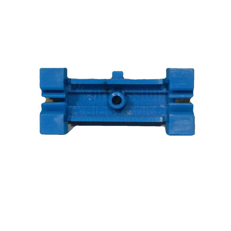 Нульова шина на DIN рейку №7 LMA019. 7 отворів Lemanso - 2