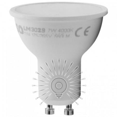 Лампа Lemanso матове скло LED GU10 7W 560LM / LM3029 Lemanso - 1