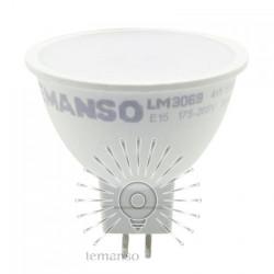 Лампа Lemanso светодиодная MR16 4W 370LM 175-265V матова / LM3069 Lemanso - 1