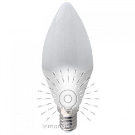 Лампа Lemanso світлодіодна 9W С37 E14 1080LM 175-265V / LM3053 Lemanso - 1
