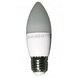 Лампа Lemanso светодиодная 7W C37M E27 640LM 4000K 175-265V / LM300 Lemanso - 1