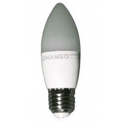 Лампа Lemanso світлодіодна 7W C37M E27 640LM 4000K 175-265V / LM300 Lemanso - 1