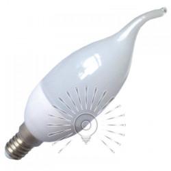 Лампа Lemanso светодиодная 4W C37T E14 380LM 220-240V / LM3019 хвост Lemanso - 1
