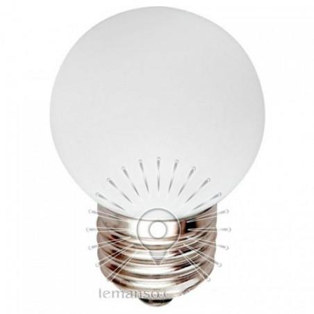 Лампа Lemanso LED G45 E27 1,2W біла куля / LM705 Lemanso - 1