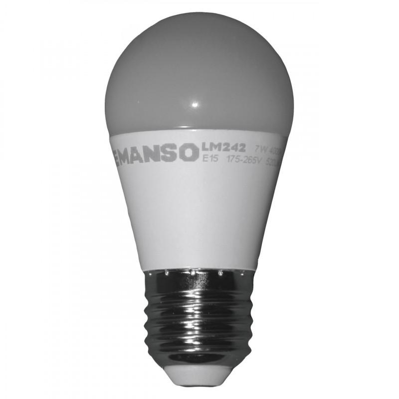 Лампа Lemanso світлодіодна 7W G45 E27 520LM 4000K 175-265V / LM242 Lemanso - 1